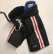 Bauer Nexus Custom Pro Hockey Pants MEDIUM North Eastern NCAA USED #26