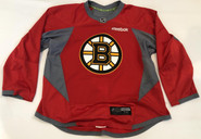 Reebok Edge 3.0 Custom Pro Stock Hockey Practice Jersey Boston Bruins Red 58 New