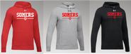 Somers Youth Soccer Under Armour Hustle Team Hoodie Adult and Youth