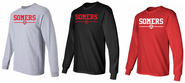 Somers Youth Soccer Gildan Cotton Long Sleeve Tee Shirt