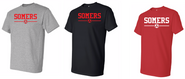 Somers Youth Soccer Gildan Cotton Short Sleeve Tee Shirt