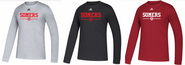 Somers Youth Soccer Adidas Amplifier Long Sleeve Tee Shirt