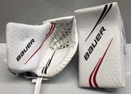 BAUER VAPOR 2X Pro Goalie Blocker and Glove Set Pro Stock NHL