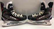 CCM Jetspeed FT1 Pro Stock Hockey Skates 9 1/2 D NHL BRUINS NHL