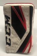 CCM Premier 2 Goalie Blocker Pro Stock Custom Used