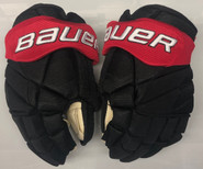 "Bauer Vapor 1X Lite Pro Stock Custom Hockey Gloves 13"" NE Huskies NEW"
