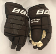 "Bauer Nexus 2N Pro Stock Custom Hockey Gloves 14"" Bruins 2019 Winter Classic"