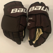 "Bauer Vapor 1X Lite Pro Custom Pro Stock Hockey Gloves 14"" Bruins 2019 Winter Classic Nordstrom"