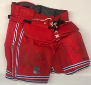 Vaughn Custom Pro Hockey Goalie Pants New York Rangers NHL XL USED
