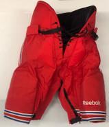 Reebok MHP18 Custom Pro Stock Hockey Pants Large New York Rangers