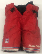 Bauer Totalone Pro Stock Hockey Girdle Large Used New York Rangers NHL Used