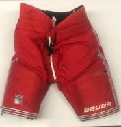 Bauer Custom Pro Stock Hockey Pants LARGE+1 New York Rangers NHL