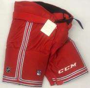 CCM HP70 Custom Pro Stock Hockey Pants XL New York Rangers NHL
