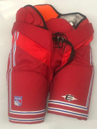 Easton Pro Custom Pro Stock Hockey Pants Red Sr. 54 New York Rangers NHL New