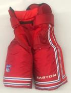 Easton Pro Custom Pro Stock Hockey Pants Red Sr. 50 New York Rangers NHL