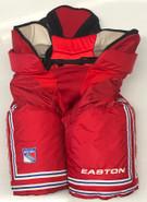 Easton Pro Custom Pro Stock Hockey Pants Red Sr. 54 New York Rangers NHL 2 New