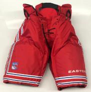 Easton Pro Custom Pro Stock Hockey Pants Red Sr. Large New York Rangers NHL  New
