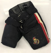 Vaughn Custom Pro Hockey Goalie Pants Ottowa Senators NHL XL used