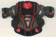 Bauer 1X Lite Pro Sr Shoulder Pads Large Pro Stock Used