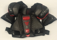 CCM U+ CL Pro Sr Shoulder Pads Large Pro Stock Used 3