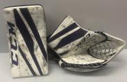 CCM Extreme Flex 3 Goalie Glove and Blocker Set Custom Pro Stock Used