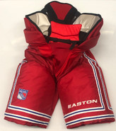 Easton Custom Pro Stock Hockey Pants Red Sr. 54 New York Rangers NHL New