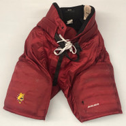 Bauer Custom Pro Hockey Pants Ferris State Bulldogs Medium NCAA Used
