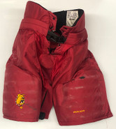 Bauer Custom Pro Hockey Pants Ferris State Bulldogs Medium+1 NCAA Used