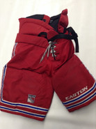 Easton Pro Custom Pro Stock Hockey Pants Large New York Rangers NHL Used