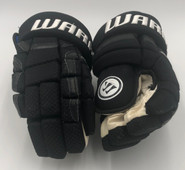 "Warrior Covert QR1 Pro Stock Custom Hockey Gloves 15"" Backes Bruins NHL Used"