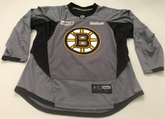 Reebok Edge 3.0 Custom Pro Stock Hockey Practice Jersey Boston Bruins Grey 58 New