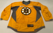 Reebok Edge 3.0 Custom Pro Stock Hockey Practice Jersey Boston Bruins Gold 56 New