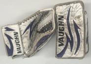 Vaughn Velocity V4 Goalie Glove and Blocker RUSSELL Pro Stock