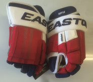 "Easton Pro Custom Hockey Gloves Pro Stock 14"" Standard NHL Boyle NY Rangers"