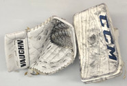 CCM Extreme Flex 2 Vaughn V6 2000 Glove And Blocker GUDLEVSKIS Pro stock AHL
