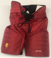 Bauer Custom Pro Hockey Pants Ferris State Bulldogs Medium NCAA Used 4