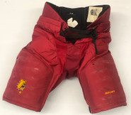 Bauer Custom Pro Hockey Pants Ferris State Bulldogs Medium NCAA Used 5