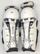 "Reebok 11K Pro Stock Sr Shin Guards Pads 15"" Used"