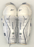 "Reebok 20K Pro Stock Sr Shin Guards Pads 16"" Used"