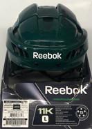 REEBOK 11K PRO STOCK HOCKEY HELMET GREEN LARGE NEW