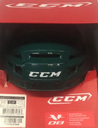 CCM VECTOR V08 PRO STOCK HOCKEY HELMET SMALL GREEN NEW