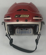 Nike Bauer 9500 Custom Hockey Helmet Boston University NCAA MEDIUM 18