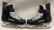 BAUER NEXUS 1N V CUT PRO CUSTOM PRO STOCK ICE HOCKEY SKATES 9.5E 9.5 E  NHL AHL USED