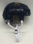 CCM RESISTANCE 110 PRO STOCK HOCKEY HELMET NAVY SMALL THUNDERBIRDS #13