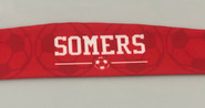 Somers Soccer Treadbands Custom All Terrain Sublimated Tieback Headband