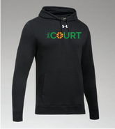 The Court Under Armour Hustle Team Hoodie Youth