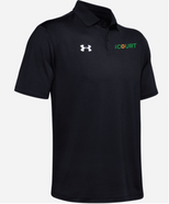 The Court Under Armour Team Performance Polo Black