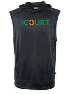 The Court Pennant Sleeveless Crossover Hoodie Adult