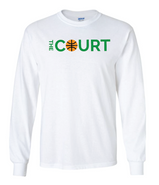 The Court Gildan Cotton Long Sleeve Tee Shirt