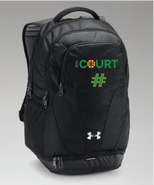 The Court Under Armour Team Hustle 3.0 Backpack